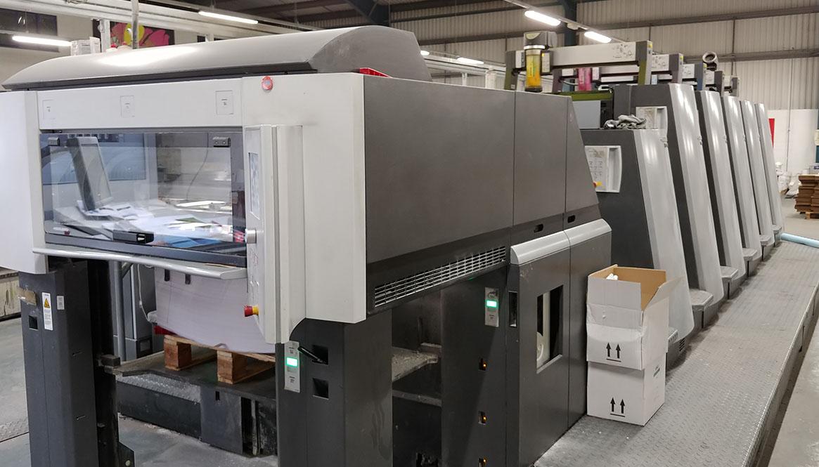 Heidelberg Press // Printing of  RW1